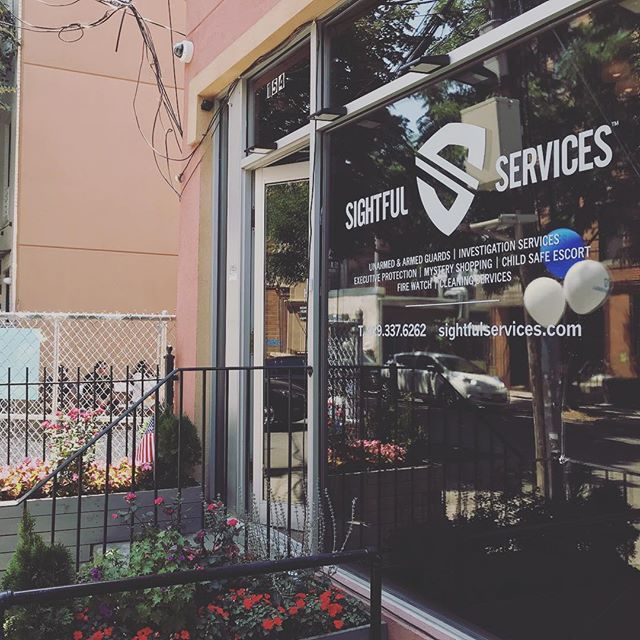 Congratulation to @sightfulservices successful grand opening day! #securityforces #greenpoint #newyork