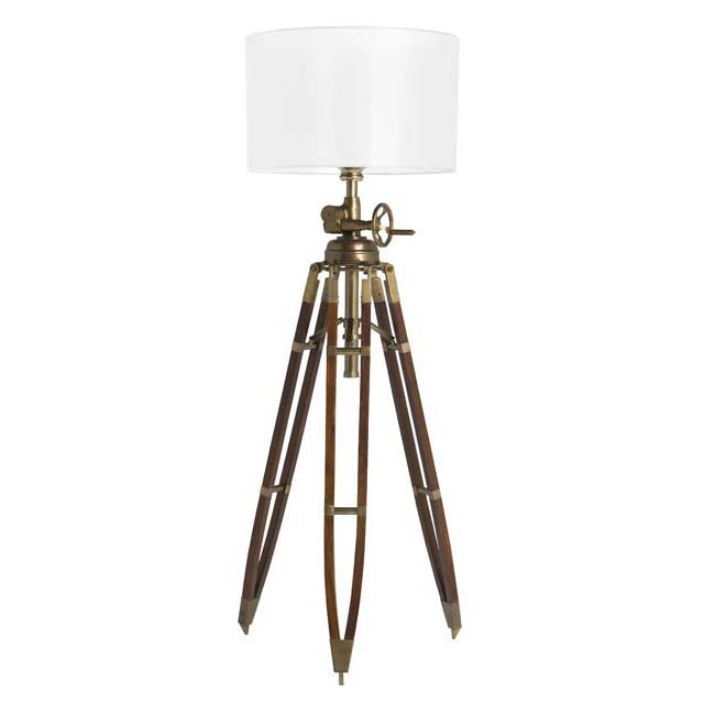 royal marine tripod floor lamp lig05783