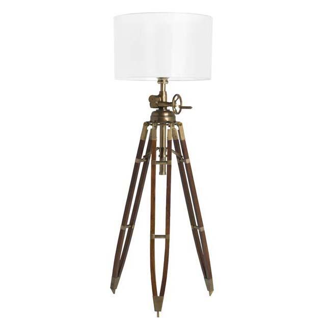 royal marine tripod floor lamp lig05783