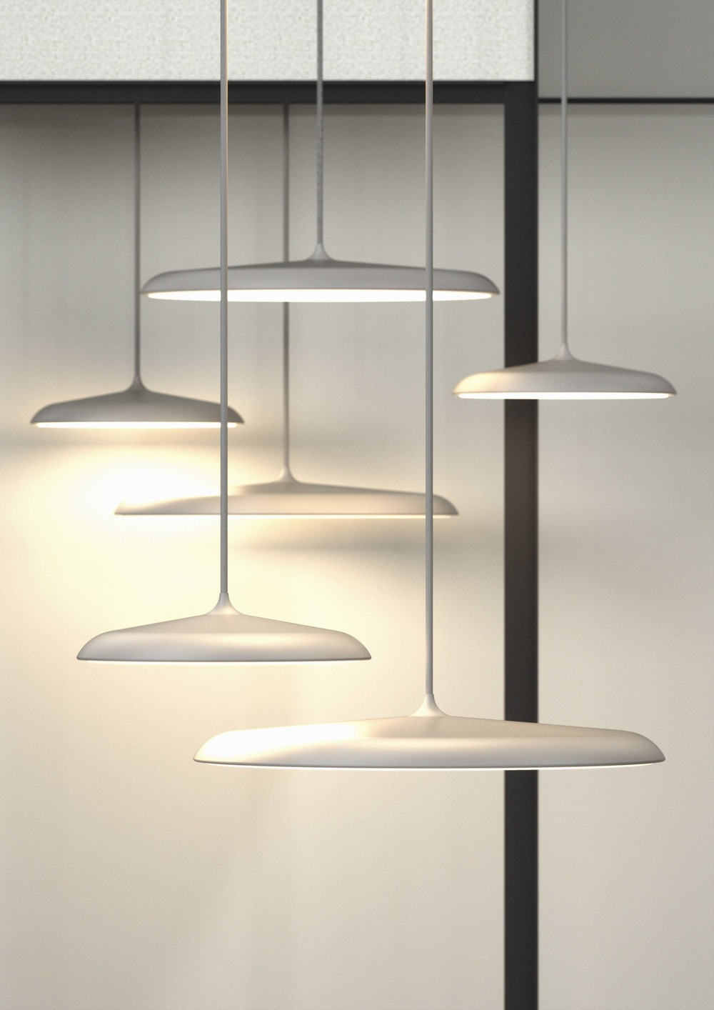 Nordlux Artist 40 Pendant Light Black Dftp Just Interiors