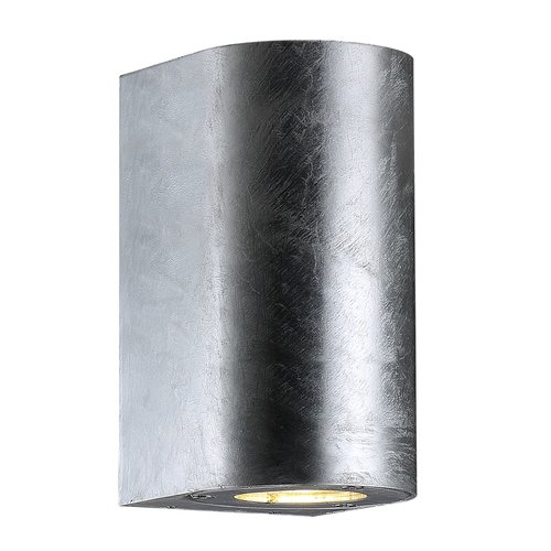 Nordlux canto maxi wall galvanized outdoor light just interiors nordlux canto maxi wall galvanized outdoor light aloadofball Choice Image