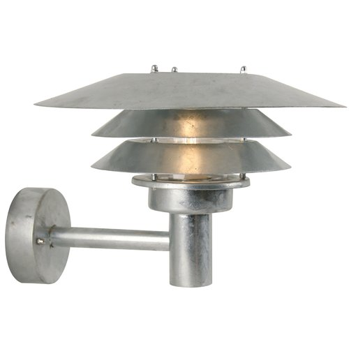 Nordlux veno wall galvanized outdoor light just interiors nordlux veno wall galvanized outdoor light workwithnaturefo