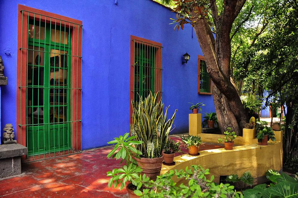 Frida Kahlo's home – La Casa Azul, Coyoacán, Mexico