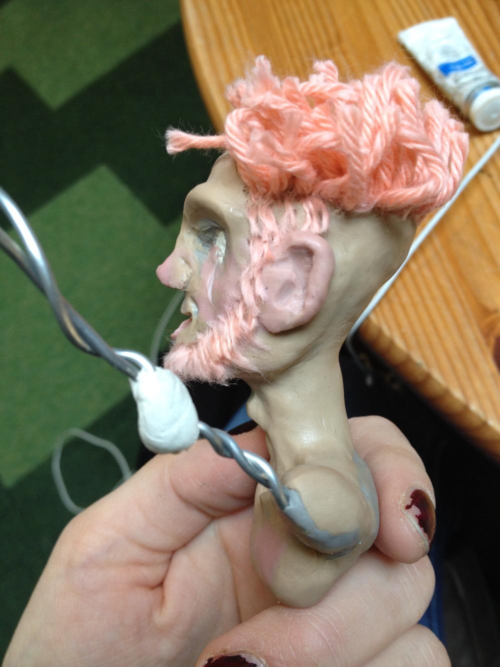 Exposition des Étudiants , Sculpture Process 2