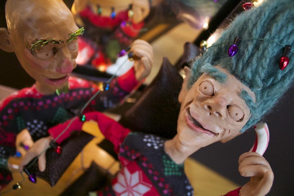 Hair-Raising Christmas , Pre-digital edits