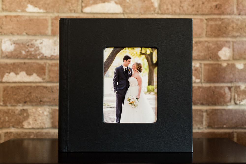 okc wedding photographer coffee table book