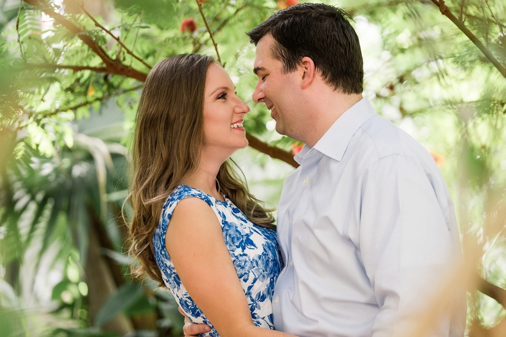 texas discovery garden engagement