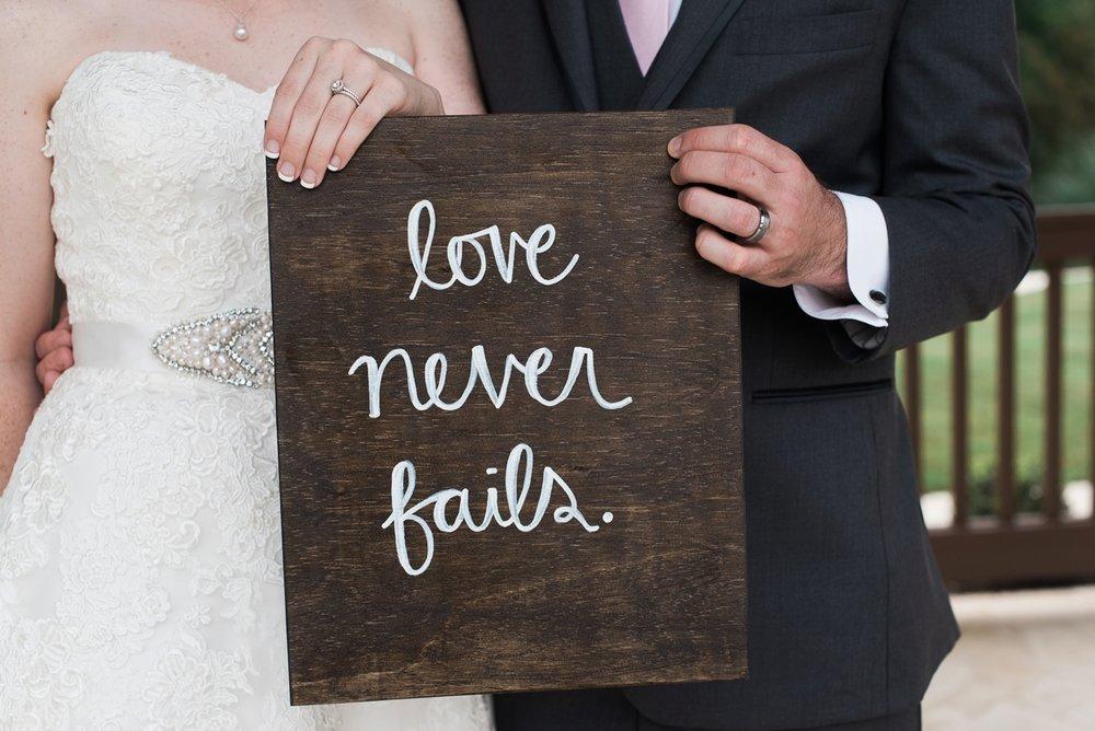 cute weddings sign