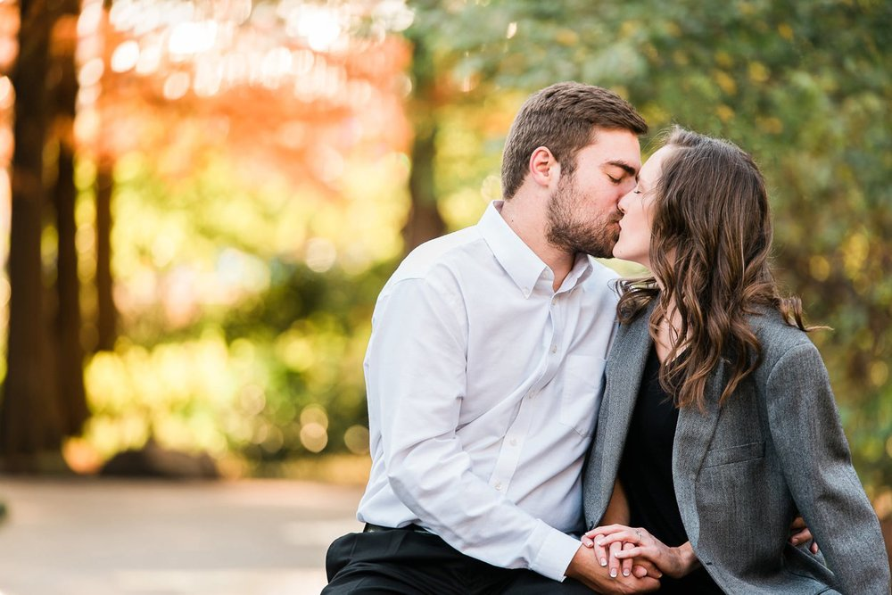 romantic oklahoma engagement