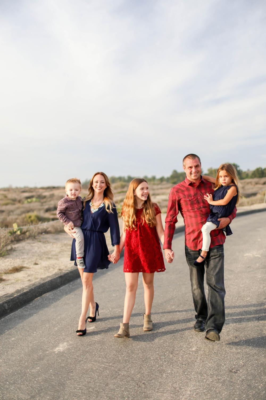 Jeff, Kristina& the family