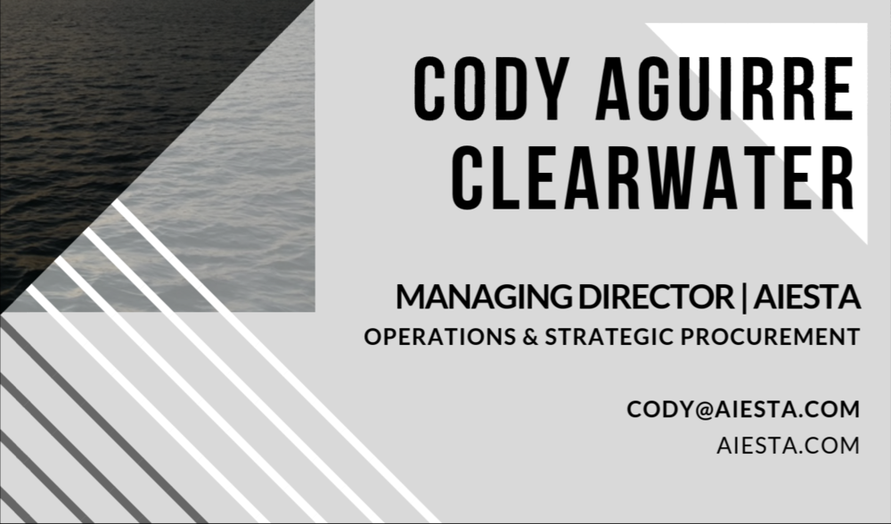 Cody AIESTA Business Card