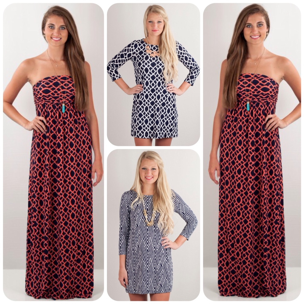 Introducing Hourglass Lilly for Summer 2014. Amazing printed tunics and dresses. We love the DVF-chic!!