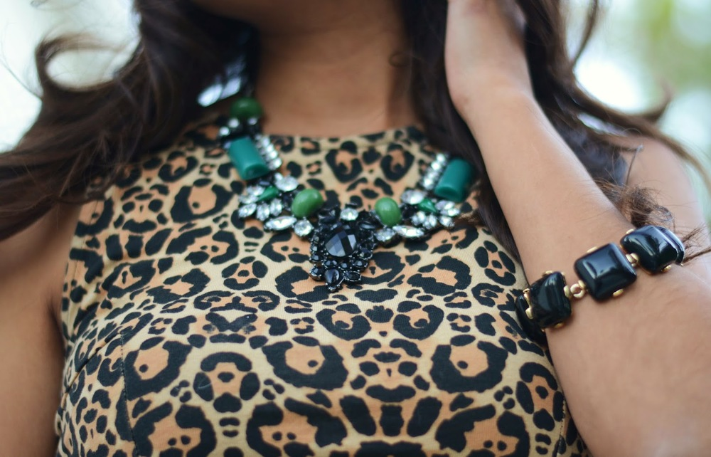 Emerald Statement Necklace {$28}
