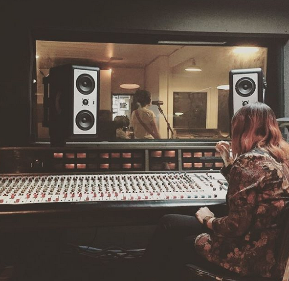 (Vanessa Recording Edens Vocals at Minbal in Chicago)