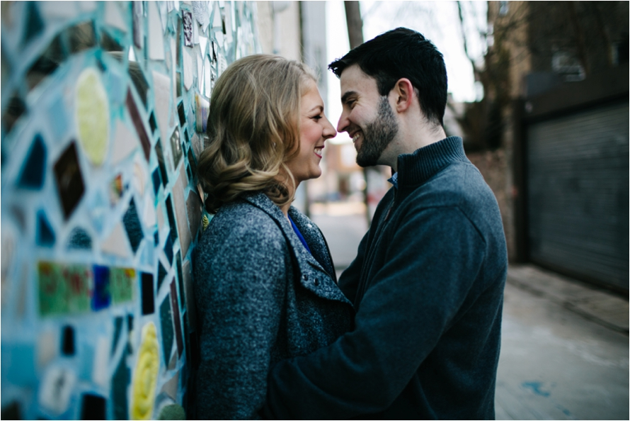 Italian Market Engagement Session | Dani Dietz Photography | Philadelphia Engagement Photographer