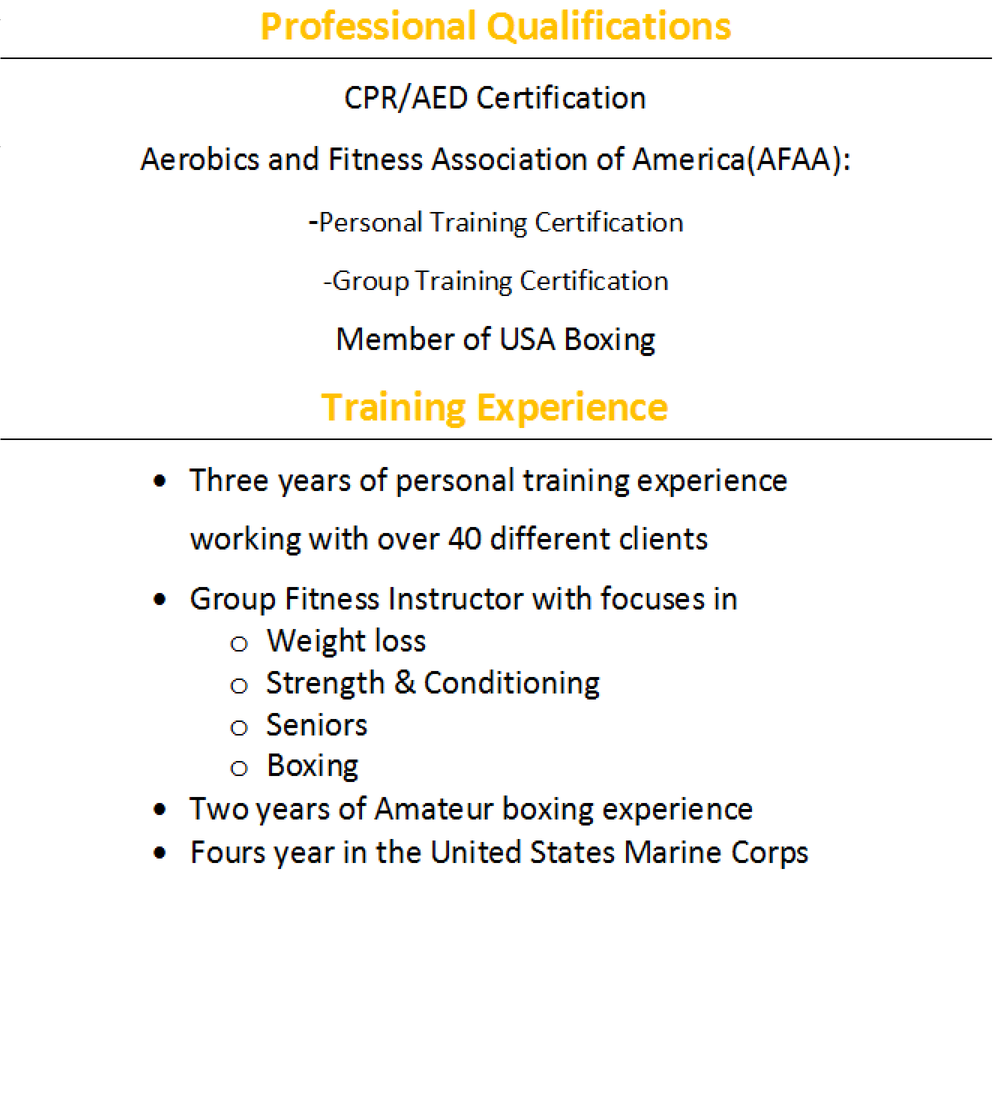 Qualifications and credentials designed fitness llc qualifications and credentials 1betcityfo Image collections