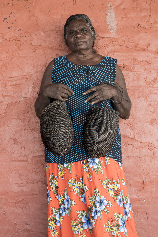 Margaret Rarru. Photo: Milingimbi Art and Culture.
