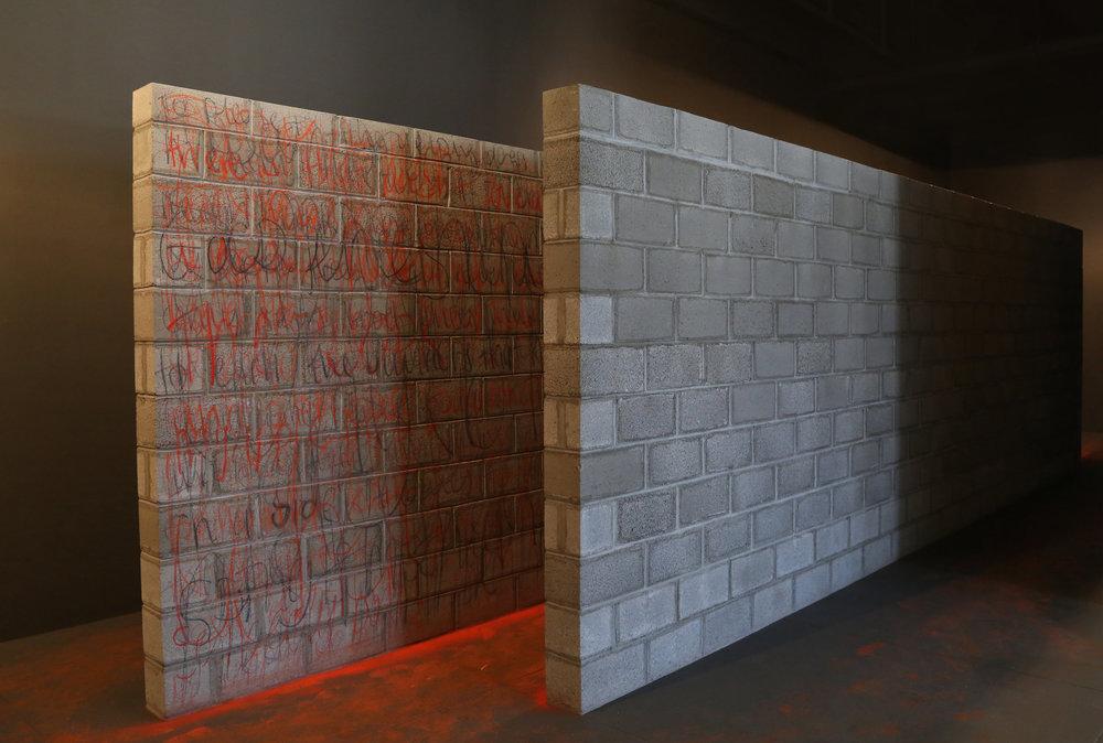 Mending Wall,  2016. Mana Contemporary, Miami, Miami Art Week