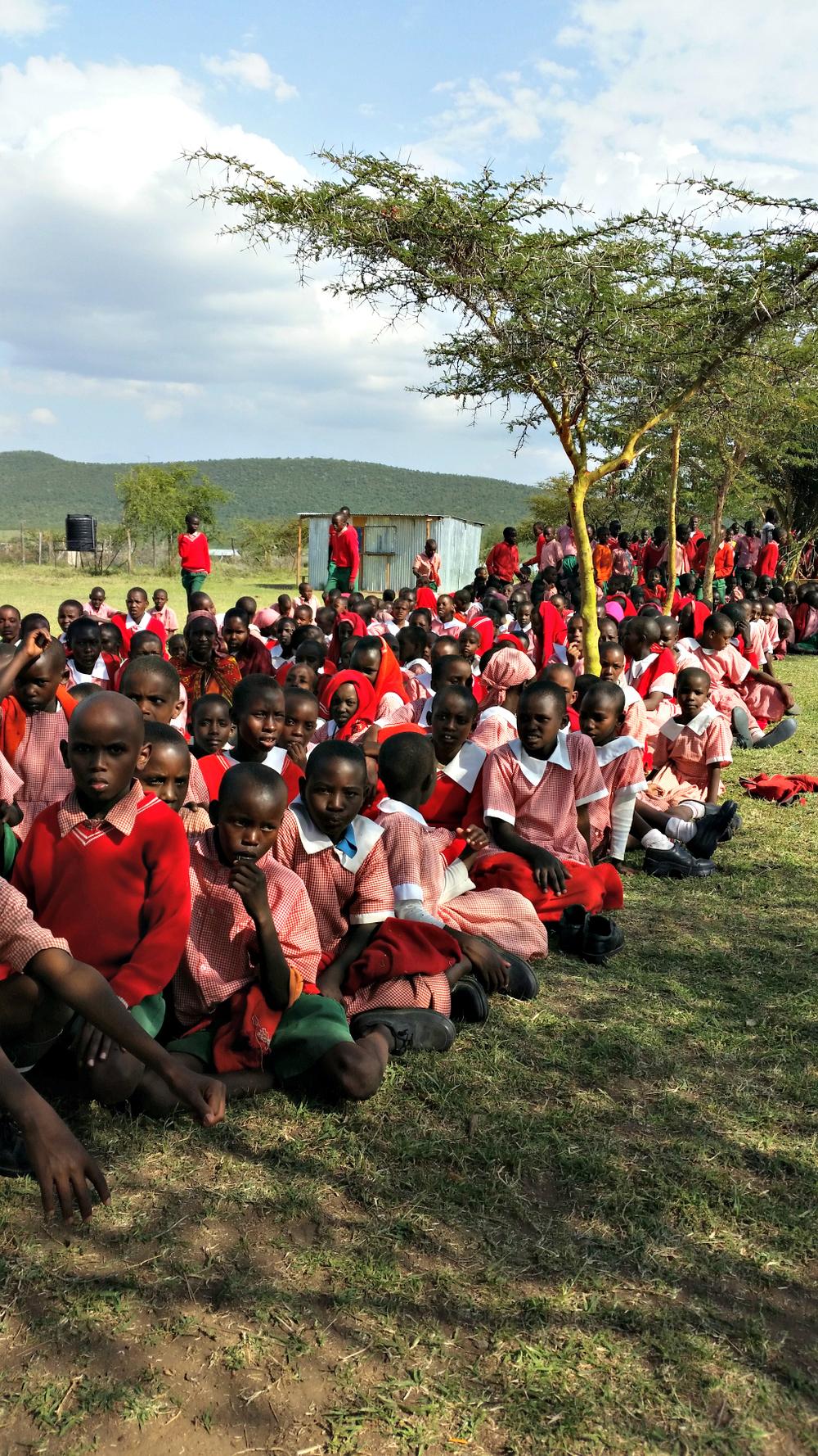 Mpopongi students