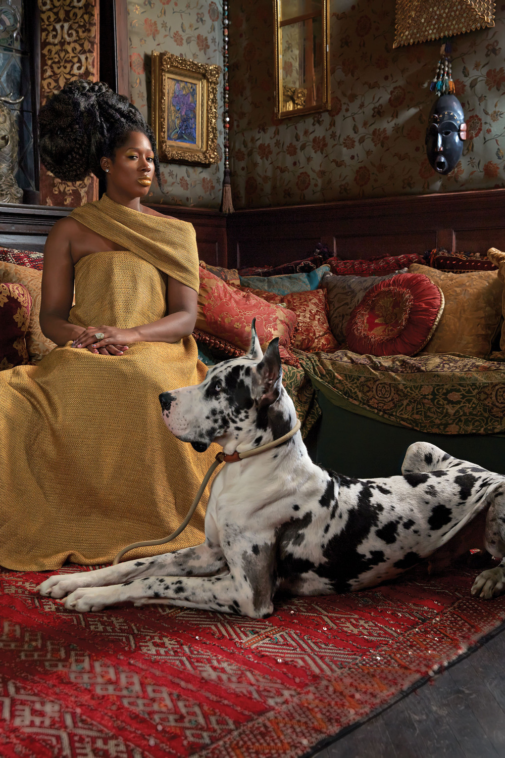 Photo by Kehinde Wiley and New York Magazine