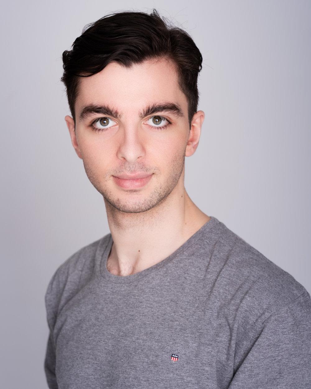 Alexander Hatzikostas Melbourne Actors Headshots