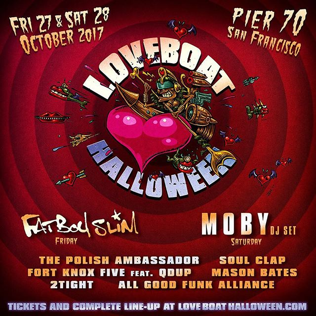 Super excited to be part of this lineup of legends! I'm playing on Friday! #loveboathalloween #halloween #house #breaks #basshouse