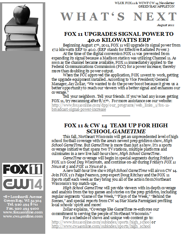 Newsletter FOX 11 Front.png