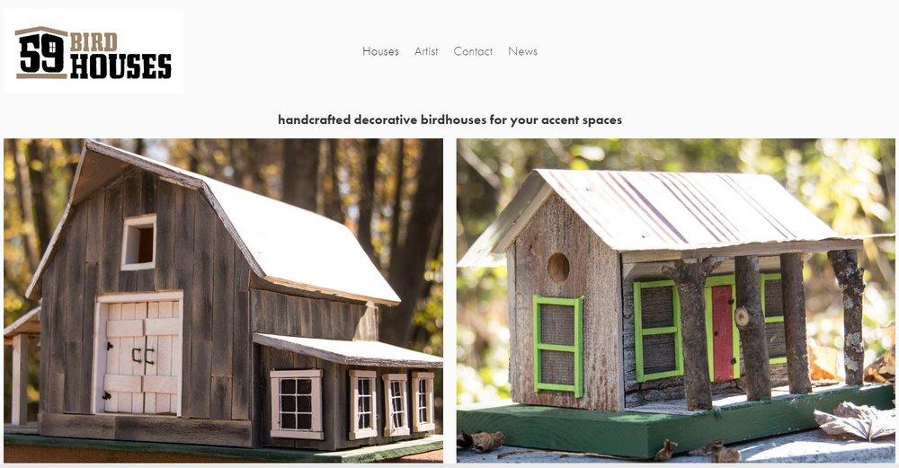 59 Birdhouses