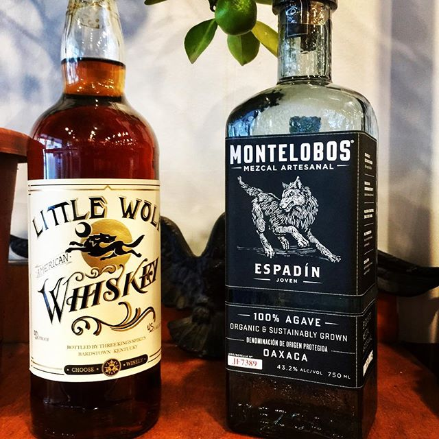 We just found a kindred bottle spirit. @montelobos we dig your style.
