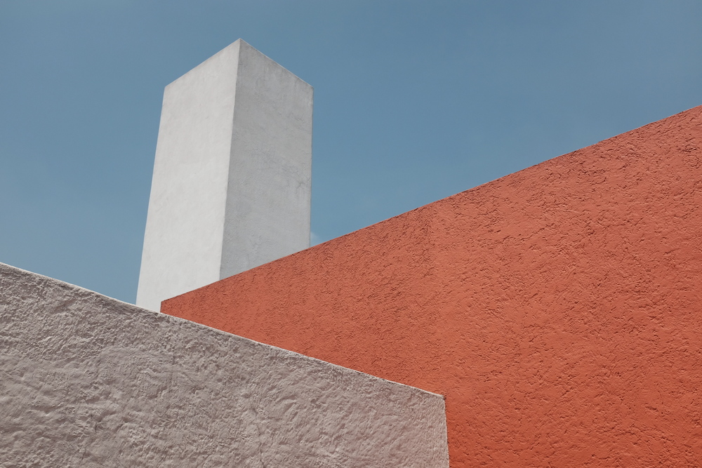 Roof Terrace at Luis Barragán House and Studio| Photo: Jinglu Huang