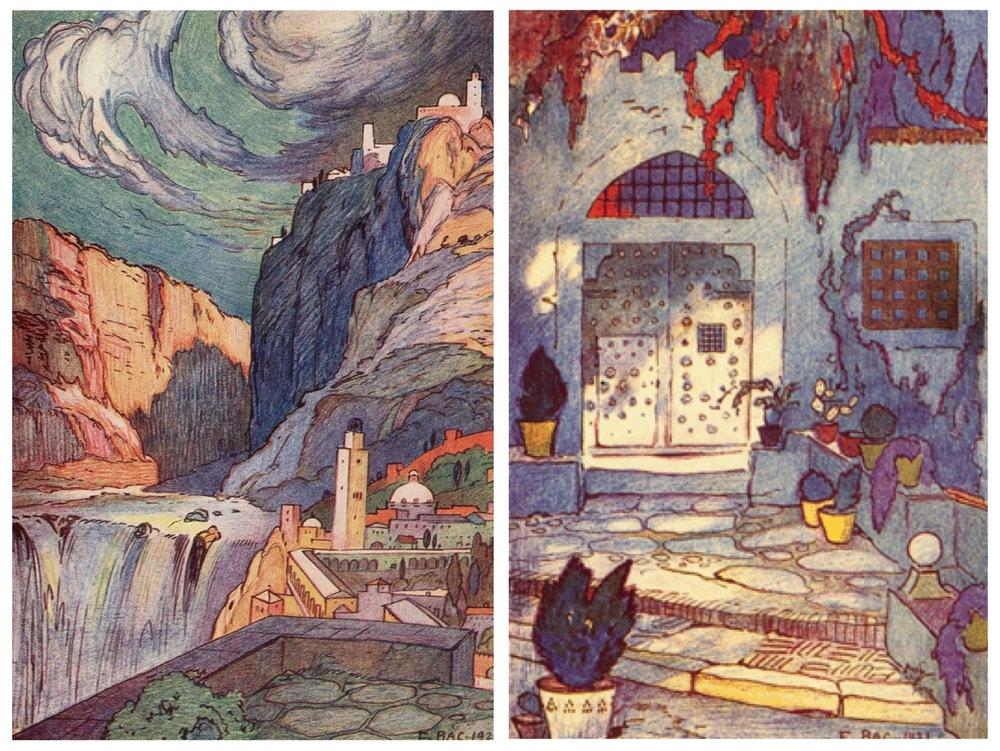 Jardins enchanté | Ferdinand Bac,1925