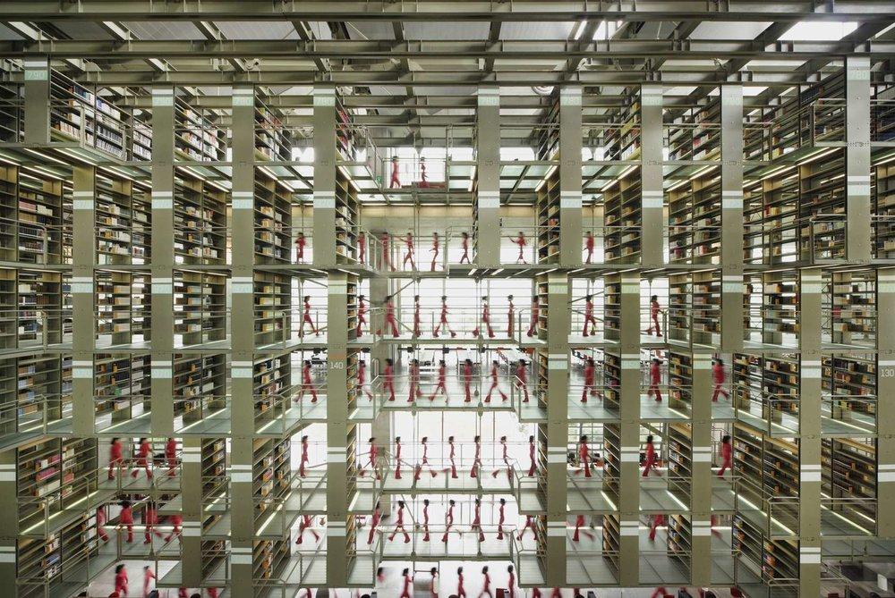Biblioteca Vasconcelos by Alberto Kalach | 图片来自 Architizer