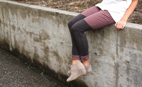 Pants // BCBG (found at Nordstrom Rack, trying to find some similar!) Tank // Nordstrom Shoes // Toms Scarf // Old, similar here