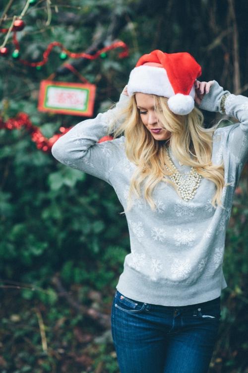 karlie rae blog / santa shoot