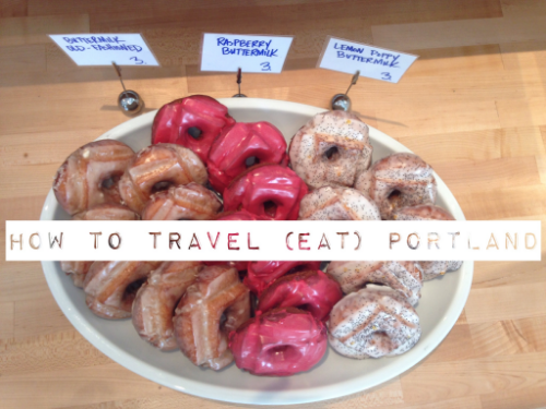 how to travel (eat) portland | karlie rae