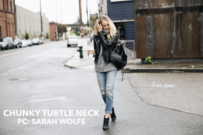 Chunky Turtle Neck | xxkarlierae.com