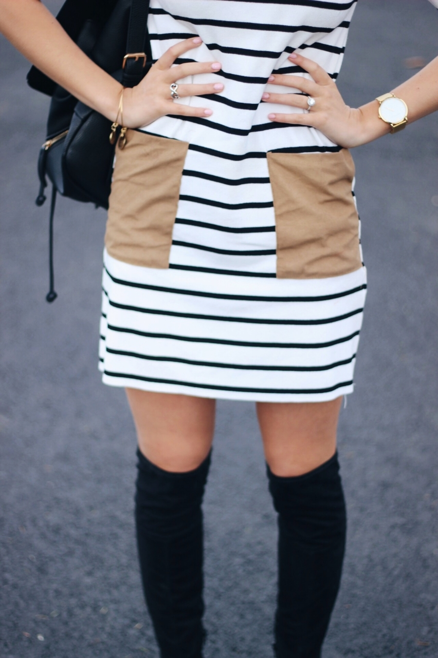 striped t shirt dress | xxkarlierae.com