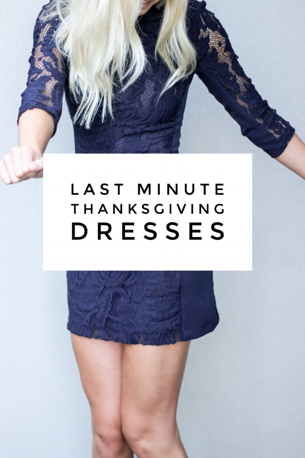 Last Minute Thanksgiving Dresses via www.xxkarlierae.com