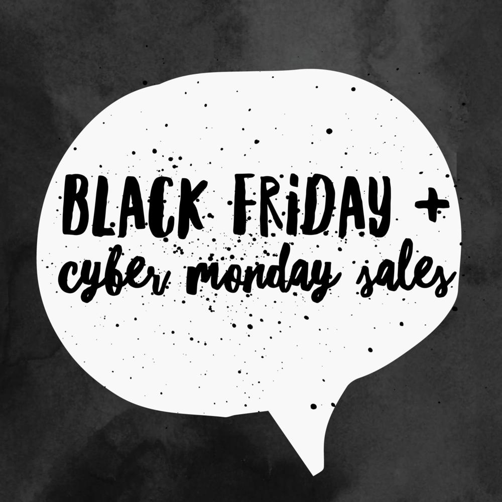 black friday + cyber monday sales via xxkarlierae.com