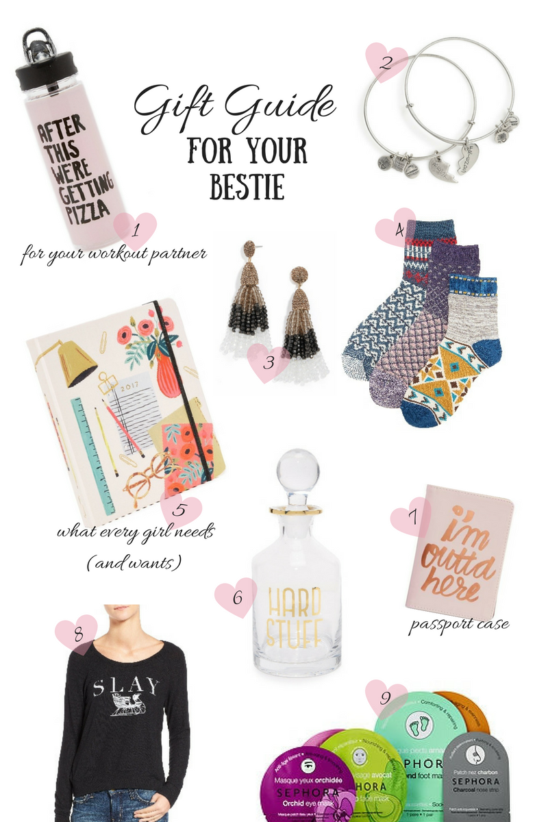 holiday gift guide for your bestie via xxkarlierae.com