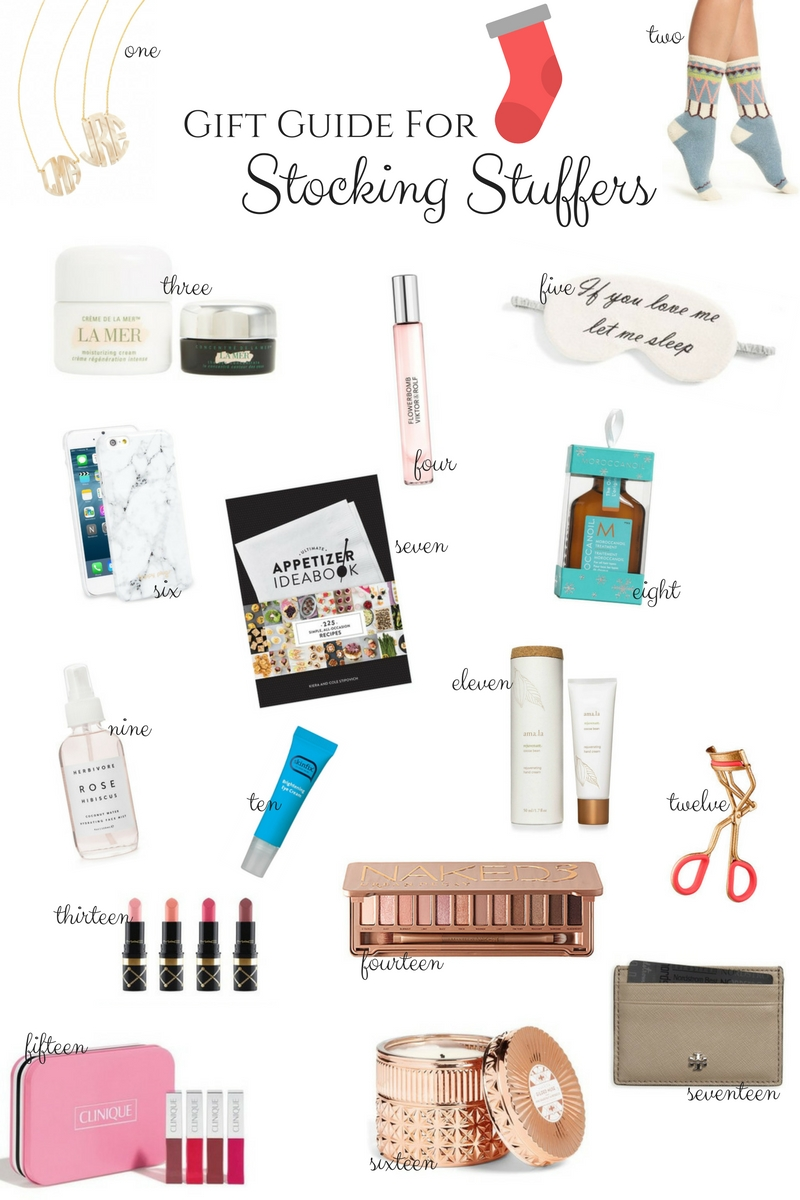 holiday gift guide for stocking stuffers via xxkarlierae.com