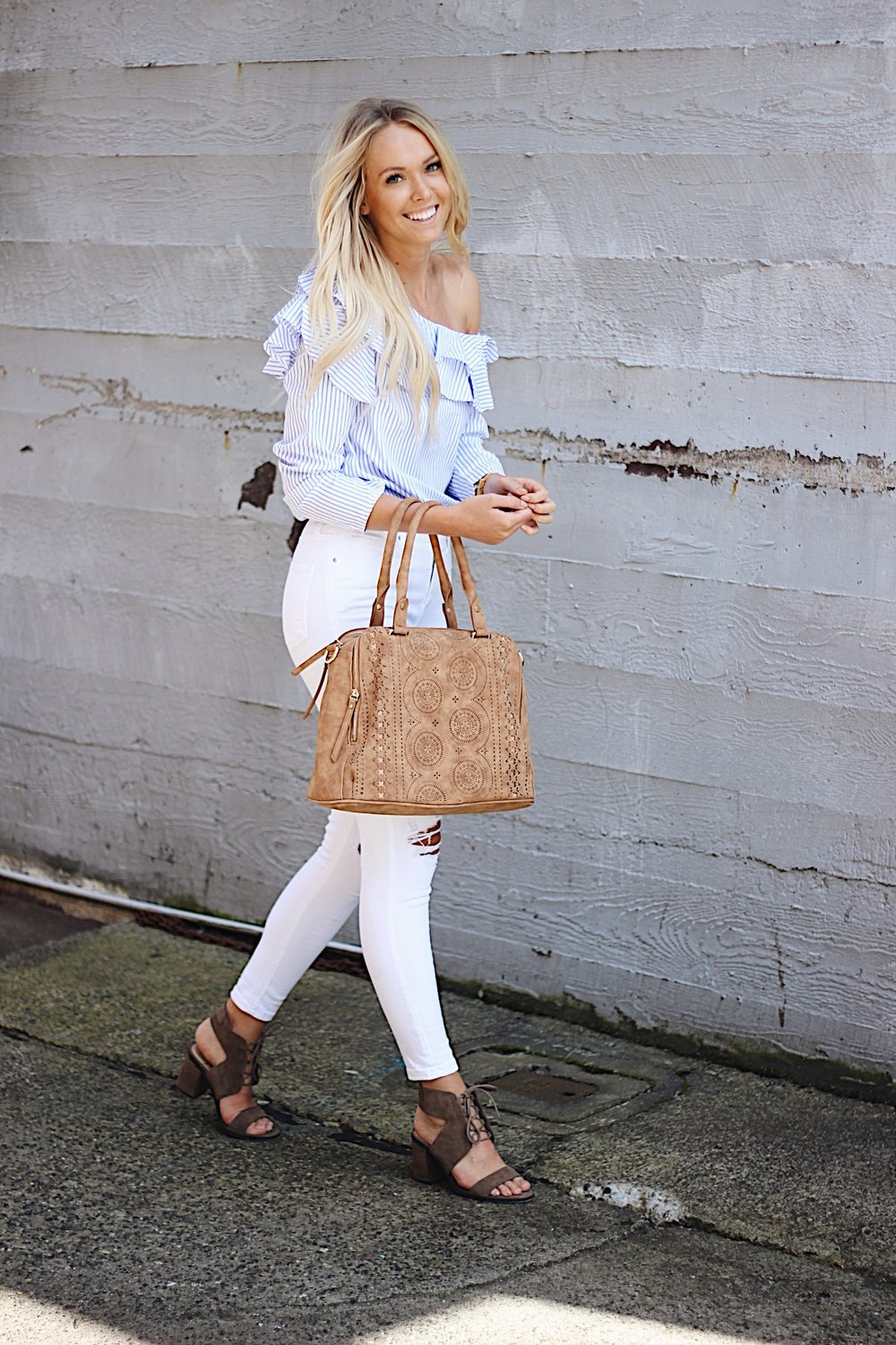 SheIn top, Free People bag, Sole Society shoes, Topshop denim