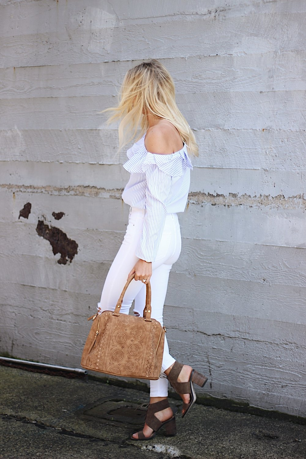 SheIn top, Free People Bag, Sole Society shoes | xxkarlierae.com