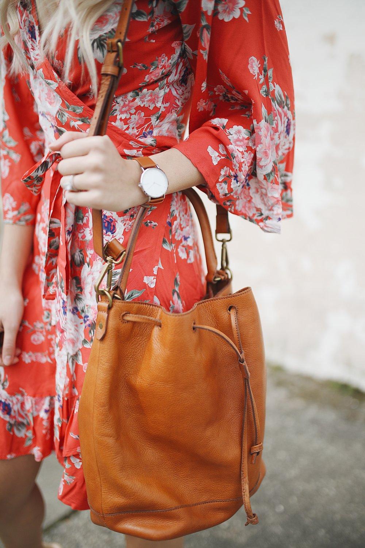 wrap dress | xxkarlierae.com