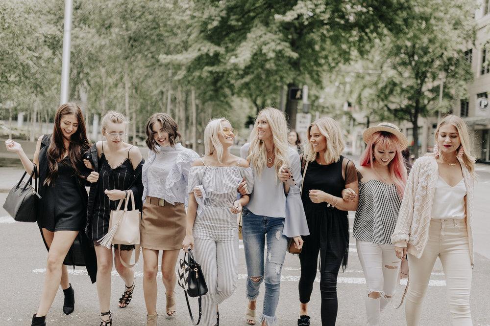 Follow my babes! Nikki - Laura - Bailey - Morgan - Bre - Aika - Jorden Photos x Mandee Rae