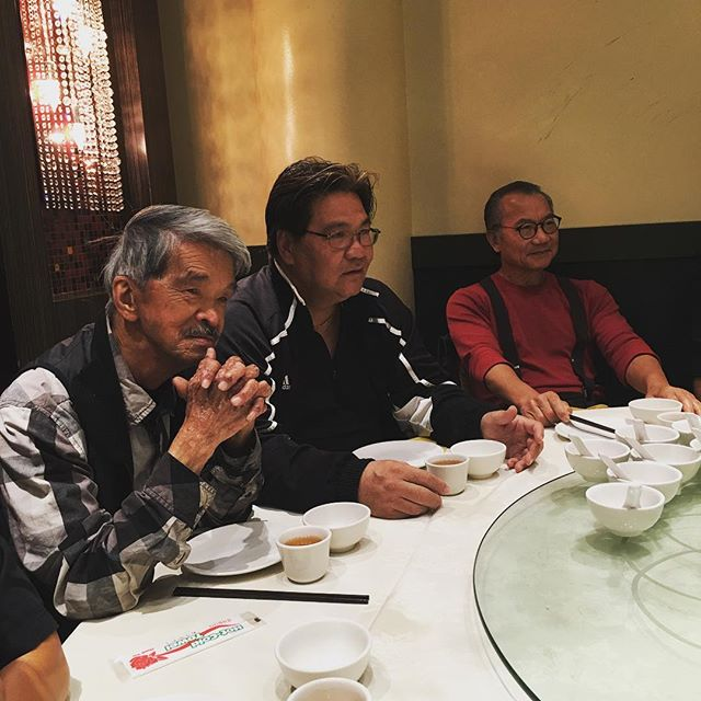 Gathering of legends! Fortunate to be reunited with SiSookGung Hawkins Cheng and SiSook Wan Kam Leung over dinner! #garylam #garylamwingchun #glwc #hawkinscheung #hawkinscheungwingchun #wankamleung #wankamleungpracticalwingchun #wongshunleung #wslvt #cranesproduction #vingtsun #wingchun #kungfu #martialarts #ma #fitness #instafit #train #training #health #workhardfighthard #belikewater #fun #instadaily #la #losangeles #california #ca #workout #workingout