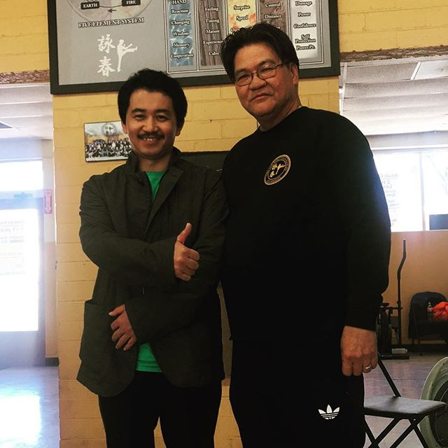 We were thankful that Sifu Wang Zhi Peng of BeiJing fame had taken a detour from his presentation in California to come visit Sifu Gary Lam. It was a wonderful opportunity between the two masters as their shared conversation at our school and over a meal. May our paths cross again in the future. #garylam #garylamwingchun #glwc #flyhimaway #wongshunleung #wslvt #cranesproduction #wangzhipeng #beijingwslvingtsun #vingtsun #wingchun #kungfu #martialarts #ma #fitness #instafit #train #training #health #workhardfighthard #belikewater #fun #instadaily #la #losangeles #california #ca #workout #workingout