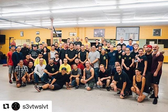 This is going DOWN! And this is only a fraction of the expected crowd for the gathering this weekend! If you weren't hyped before, hope this picture would change your mind. The WSLVT presence is huge and we'll continue to prove it to you. #garylam #garylamwingchun #glwc #flyhimaway #s3vt #wongshunleung #wslvt #cranesproduction #vingtsun #wingchun #kungfu #martialarts #ma #fitness #instafit #train #training #health #workhardfighthard #belikewater #fun #instadaily #la #losangeles #california #ca #workout #workingout