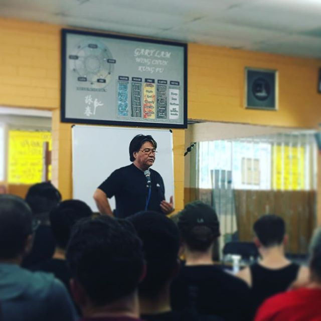The main man to close out this weekend, Sifu Gary Lam! #garylam #garylamwingchun #glwc #flyhimaway #wongshunleung #wslvt #wslvtna2017 #cranesproduction #vingtsun #wingchun #kungfu #martialarts #ma #fitness #instafit #train #training #health #workhardfighthard #belikewater #fun #instadaily #la #losangeles #california #ca #workout #workingout