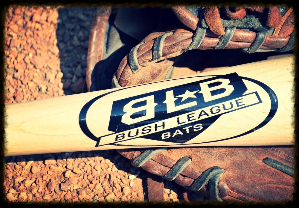 Congratulations. You've foundthe only place to get Bush League Bats, exclusive T's and Buckets, and Limited Edition Bat